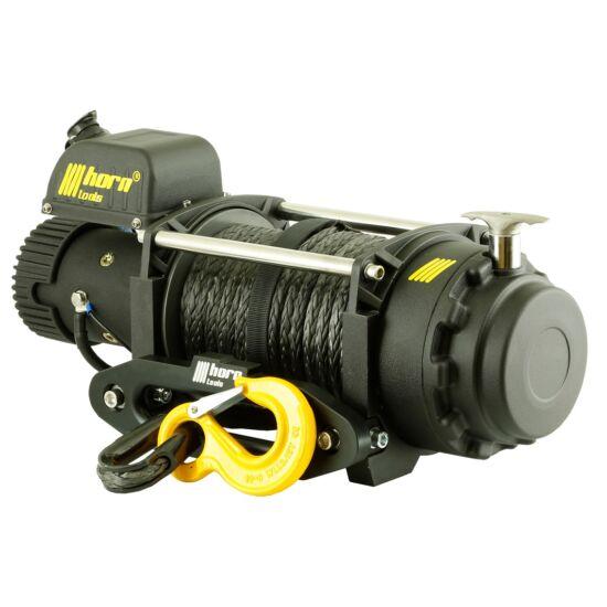 HORN Sigma 17.5s - 12V, szintetikus kötéllel szerelve, vontatási kapacitás 8000 kg