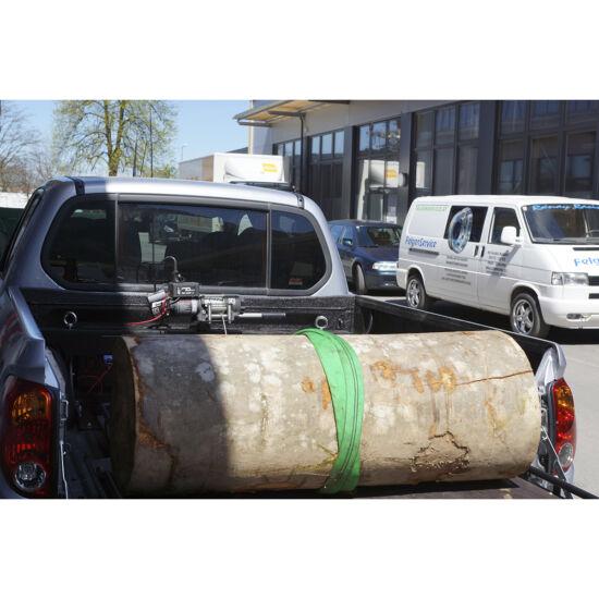 Pickup platóra rögzíthető csörlőtartó konzol 3500 csörlővel
